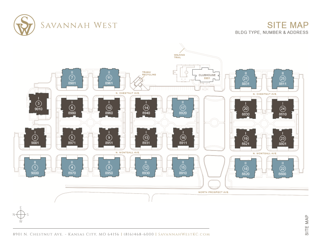Savannah West Site Plan