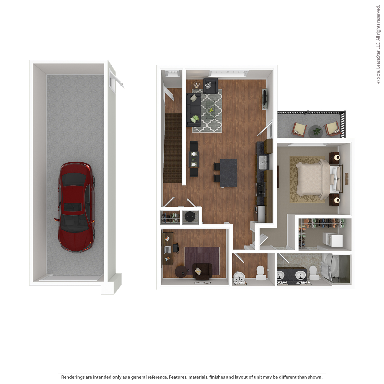 Savannah West - Floorplan - B1