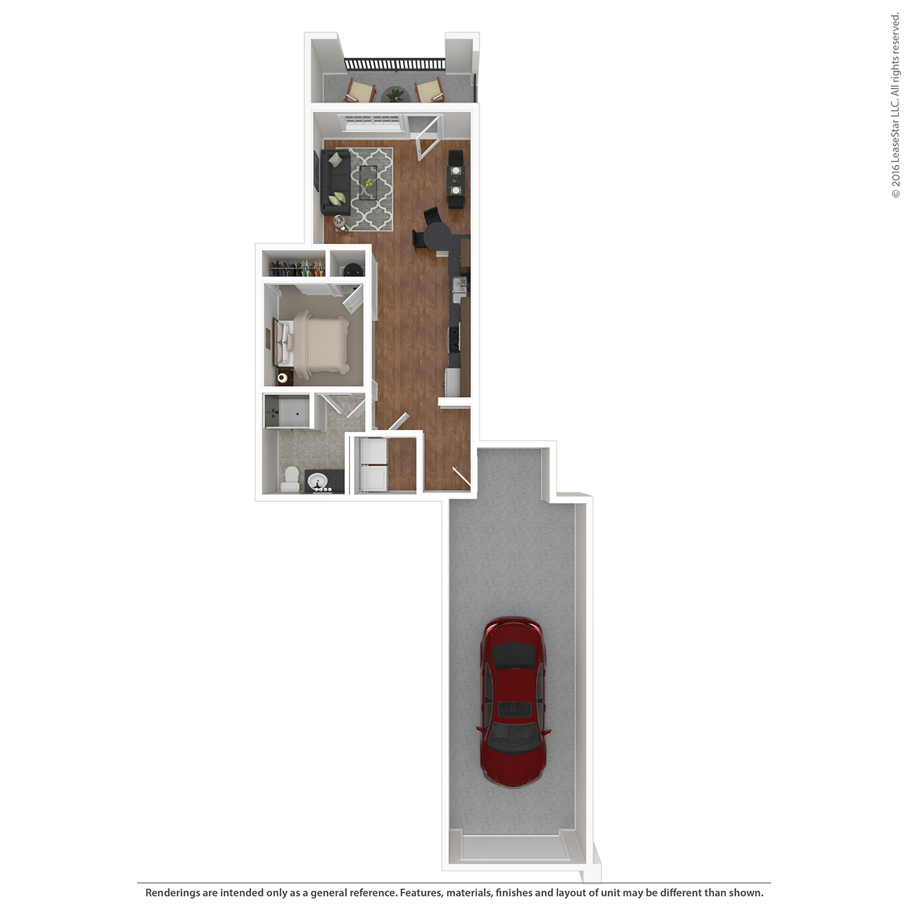 Savannah West - Floorplan - A1