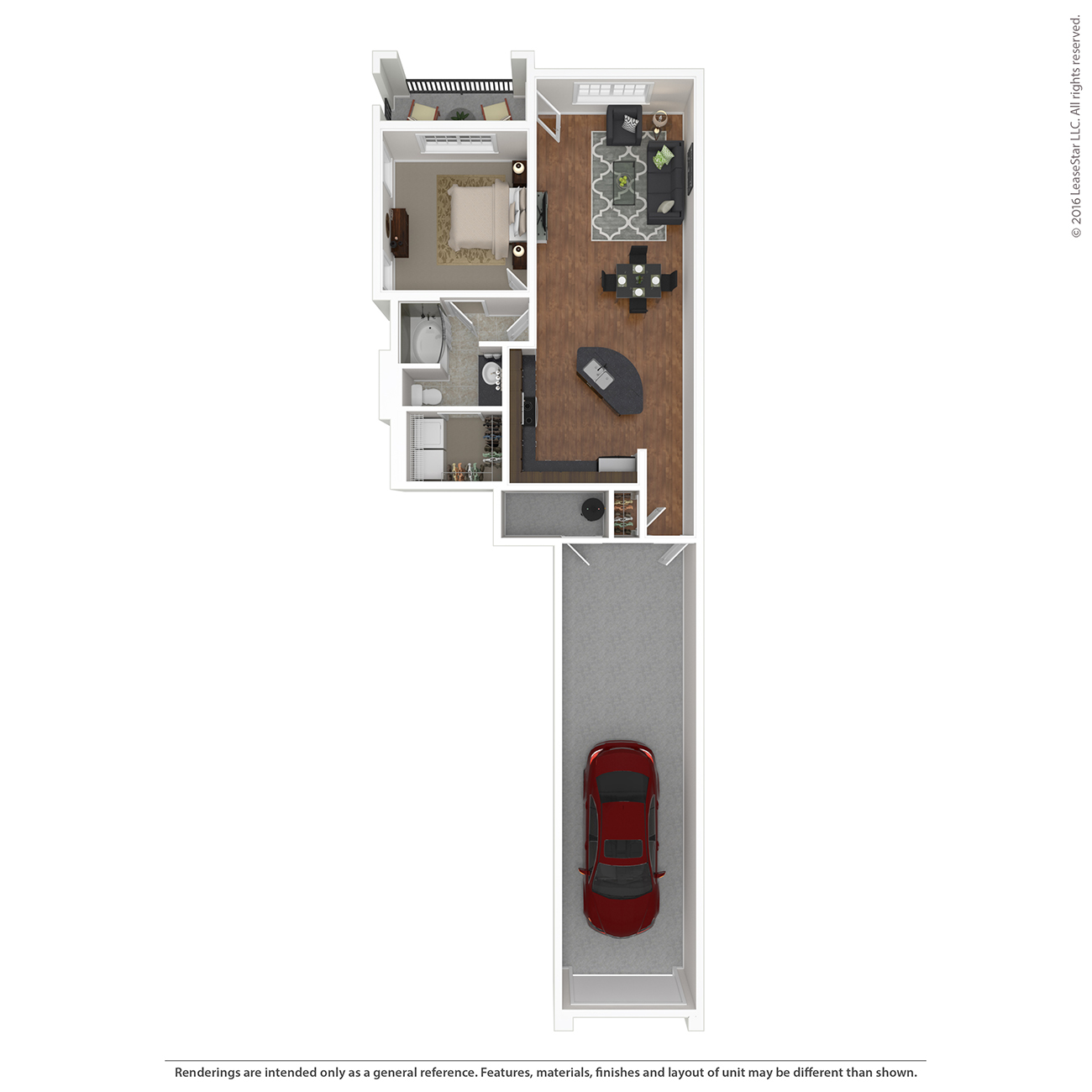 Savannah West - Floorplan - A2