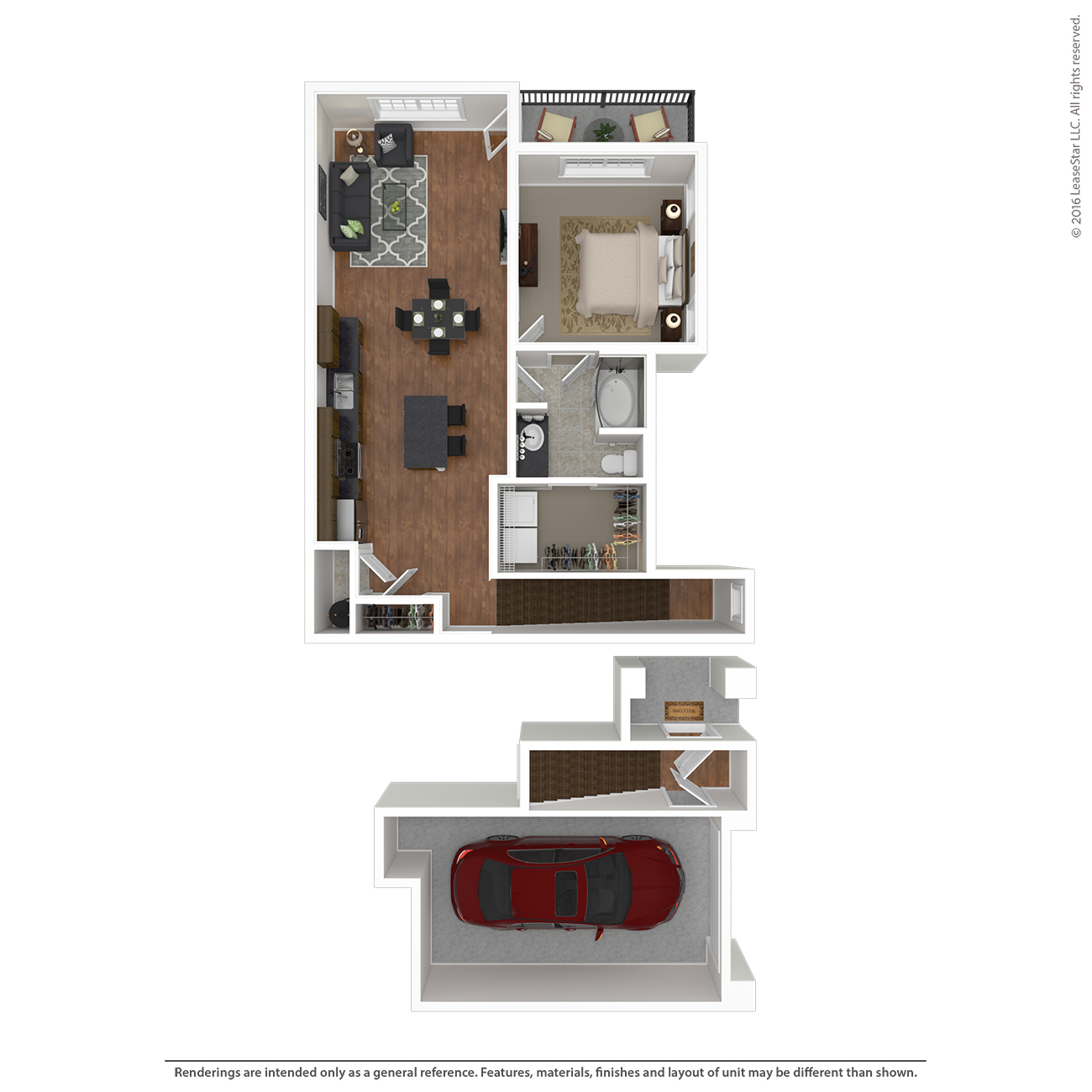 Savannah West - Floorplan - A3