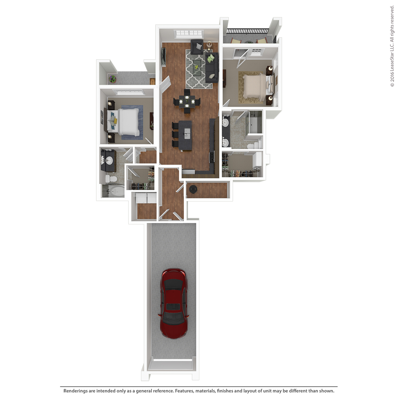 Savannah West - Floorplan - C1