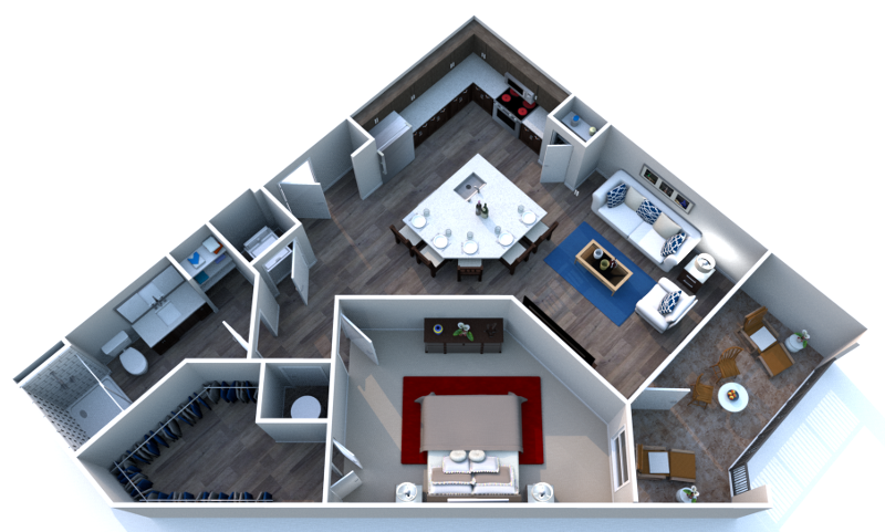 Floorplan - One.2 image