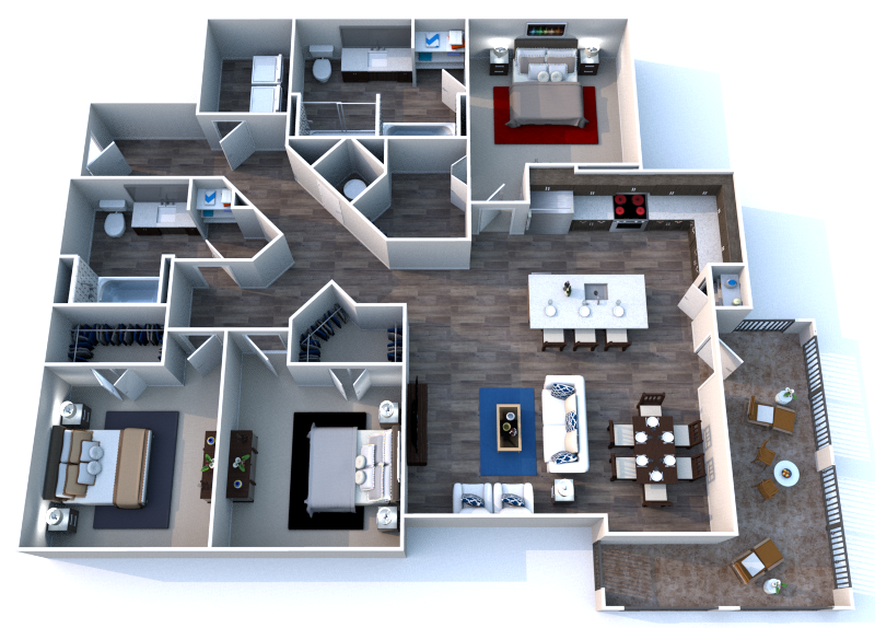Floorplan - Three.1 image