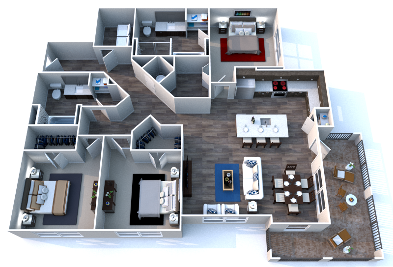 Sawgrass Point - Floorplan - Three.1