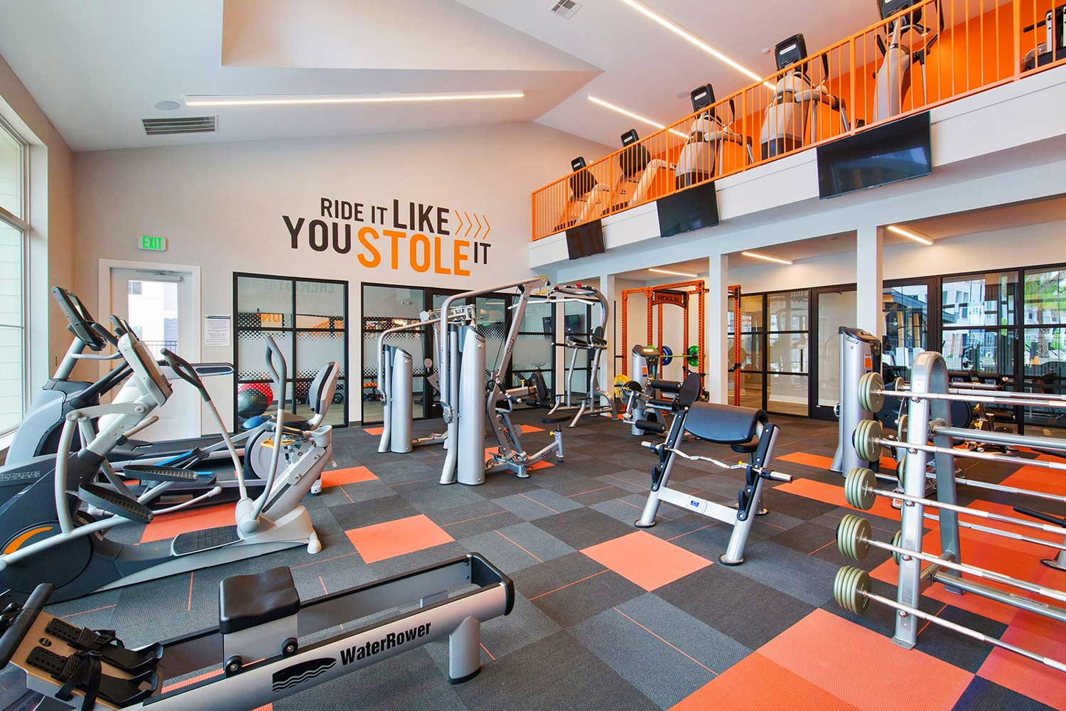 State-Of-The-Art Fitness Center at Sawgrass Point in Gonzales, Louisiana