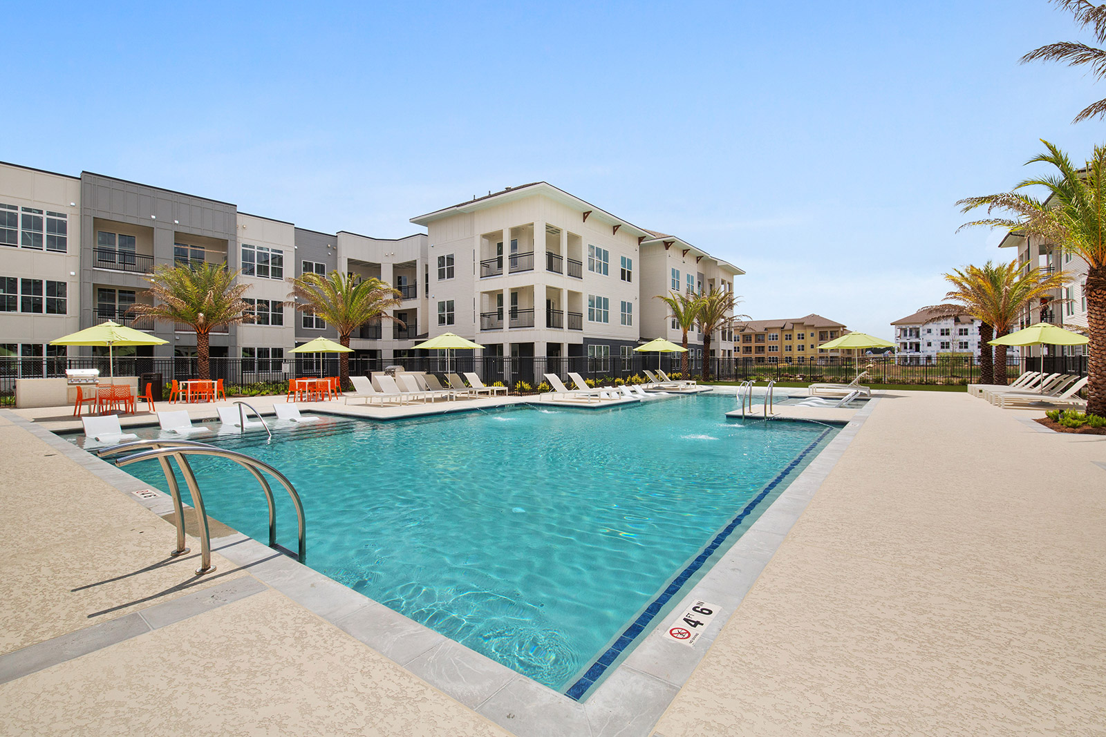 Swimming Pool at Sawgrass Point in Gonzales, Louisiana