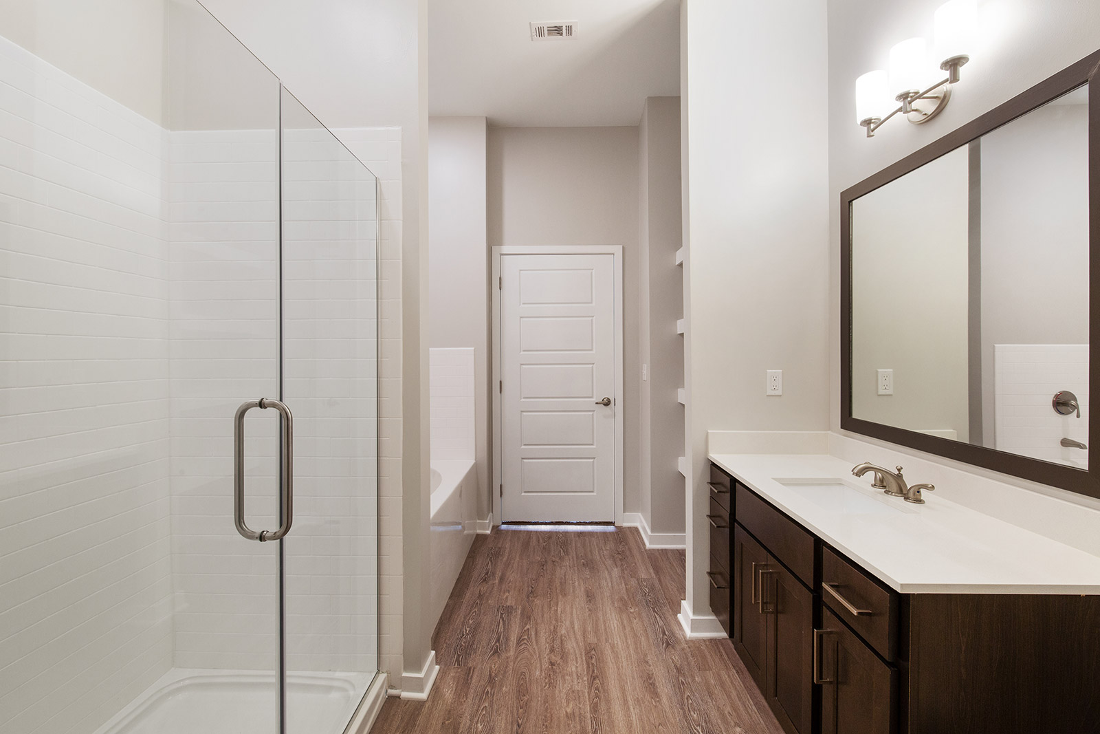 Bathroom Interior at Sawgrass Point in Gonzales, Louisiana
