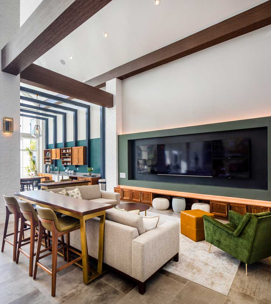 Community Lounge at Sawgrass Point in Gonzales, Louisiana