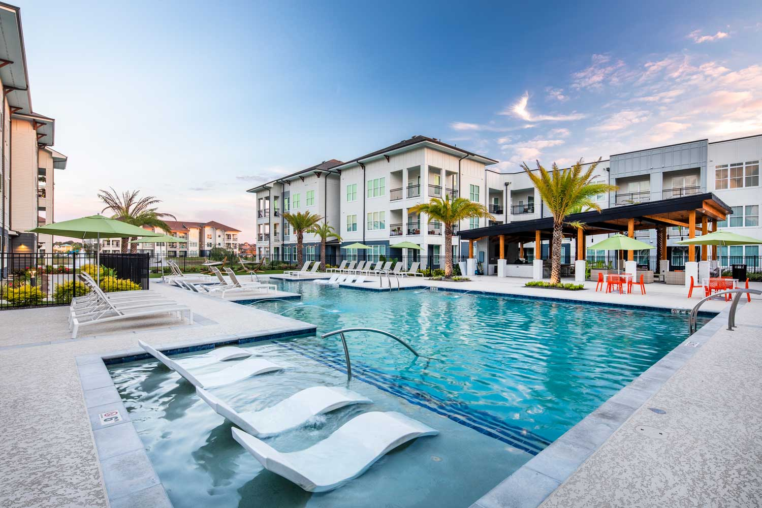 Resort-Style Swimming Pool at Sawgrass Point in Gonzales, Louisiana