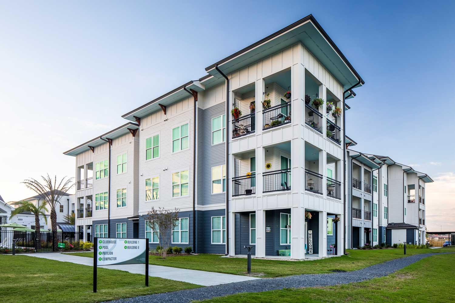 Two Bedroom Apartments at Sawgrass Point in Gonzales, Louisiana