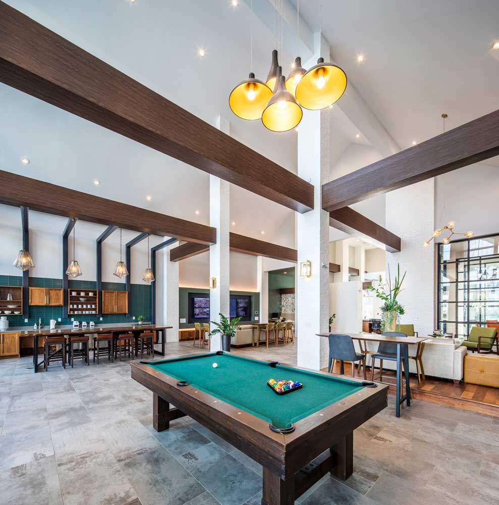 Pool Table at Sawgrass Point in Gonzales, Louisiana
