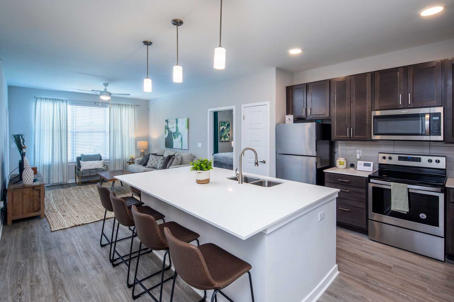 Stainless Steel Appliances at Sawgrass Point in Gonzales, Louisiana