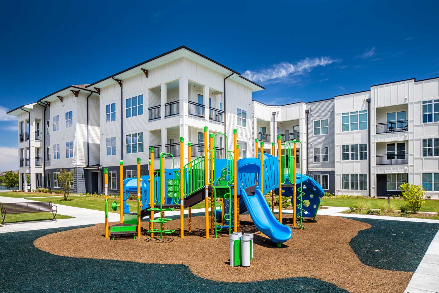Playground at Sawgrass Point in Gonzales, Louisiana