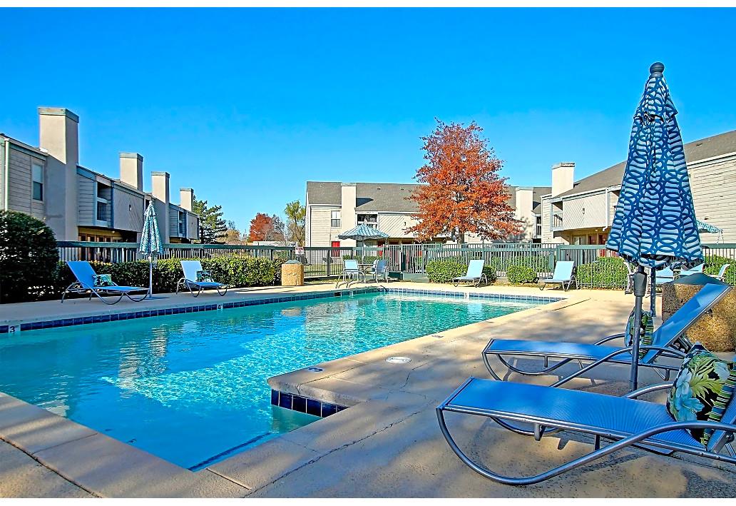 Sparkling Swimming Pool at Sawmill Apartments in Tulsa, Oklahoma