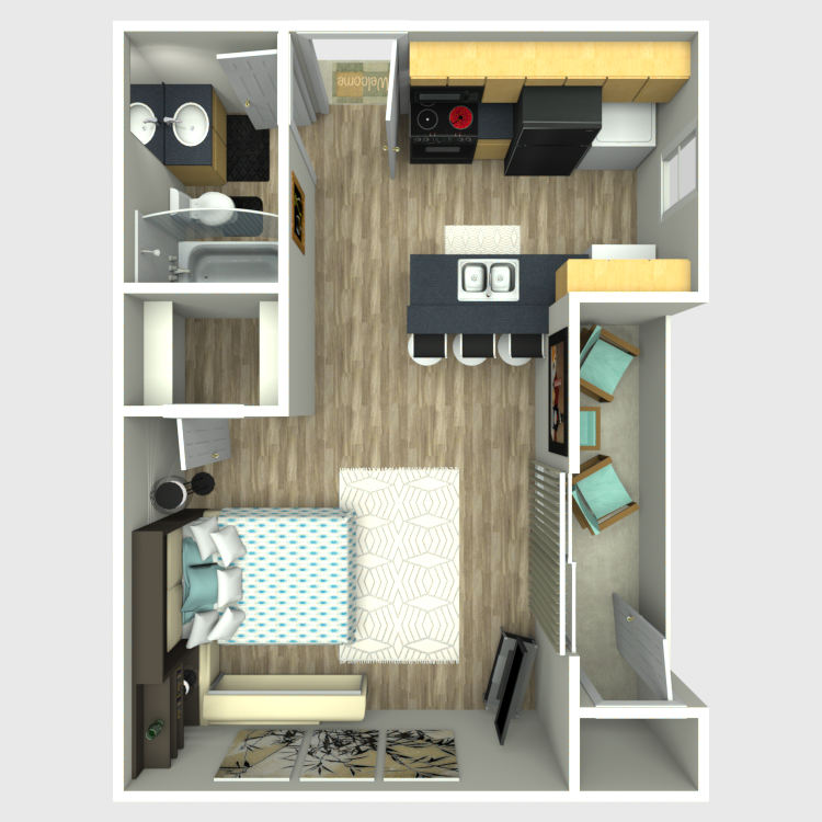 Sedona Ridge - Floorplan - A1