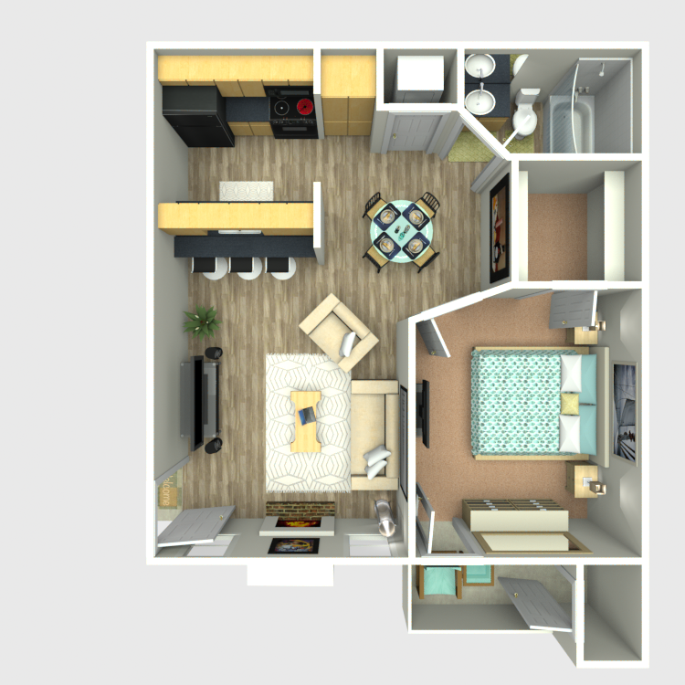 Sedona Ridge - Floorplan - A3