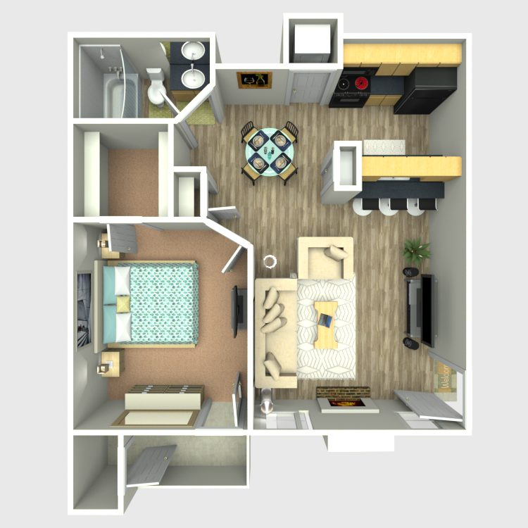 Sedona Ridge - Floorplan - A5