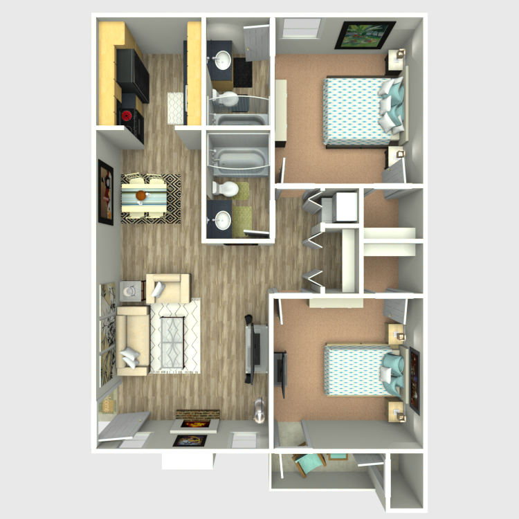 Sedona Ridge - Floorplan - B1