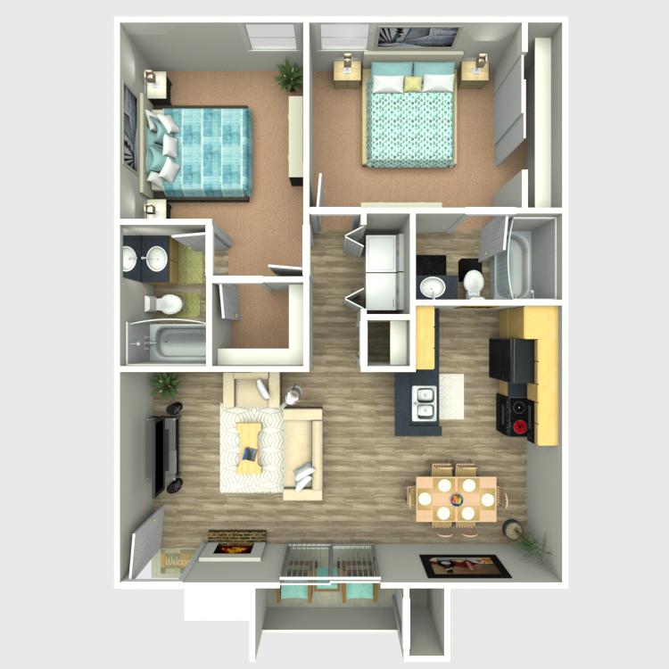 Sedona Ridge - Floorplan - B2