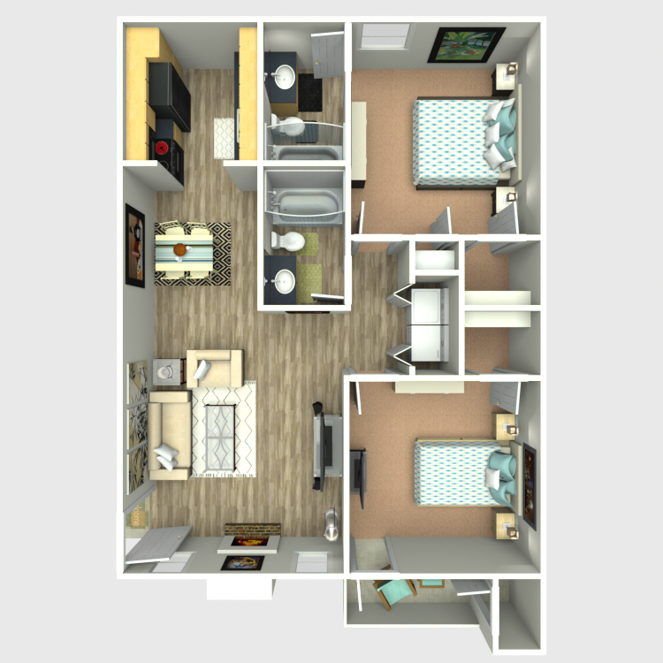 Sedona Ridge - Floorplan - B3