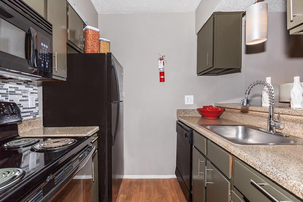 Fully-Equipped Kitchen at Sedona Ridge Apartments in Dallas, TX