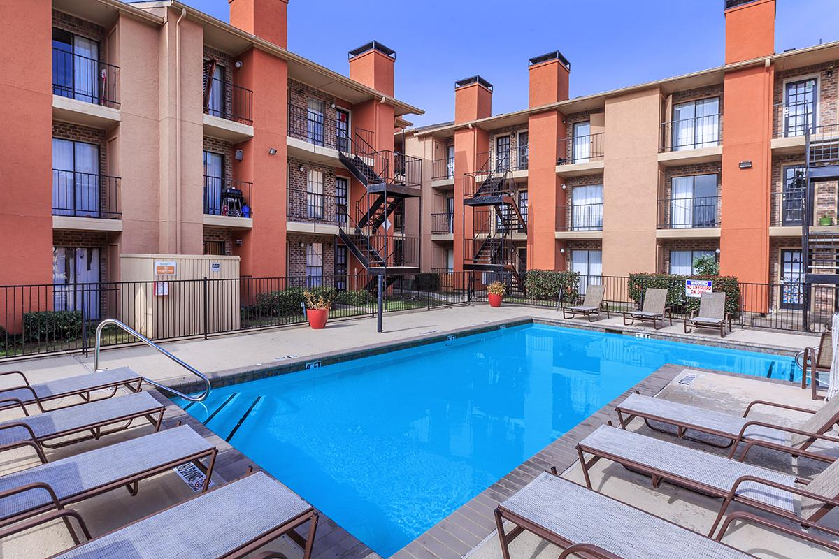 Outdoor Swimming Pool at Sedona Ridge Apartments in Dallas, TX