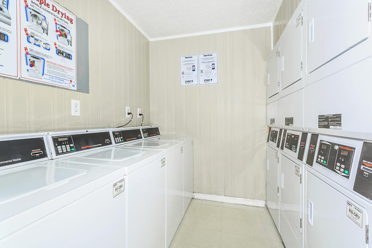 On-Site Laundry Facility at Sedona Ridge Apartments in Dallas, TX