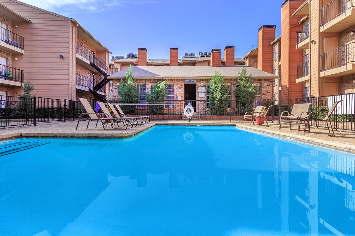 Resort-Style Swimming Pool at Sedona Ridge Apartments in Dallas, TX