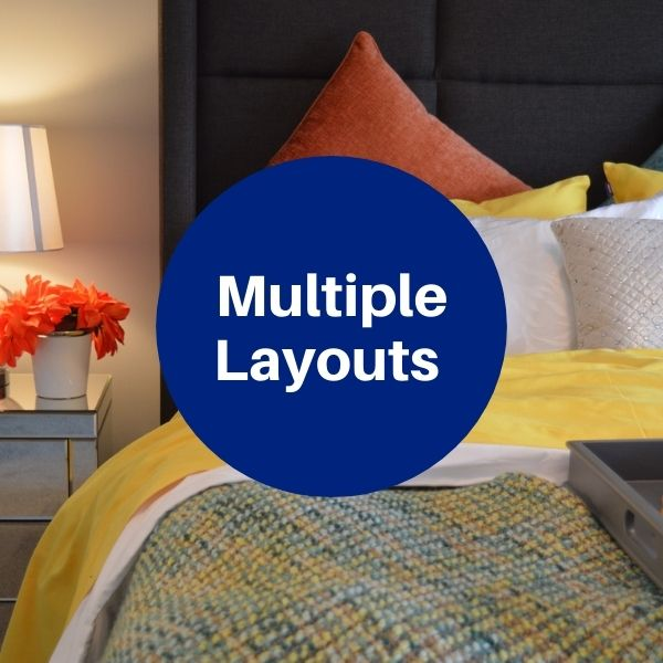 Floorplan - 2 Bedrooms + 2 Baths image