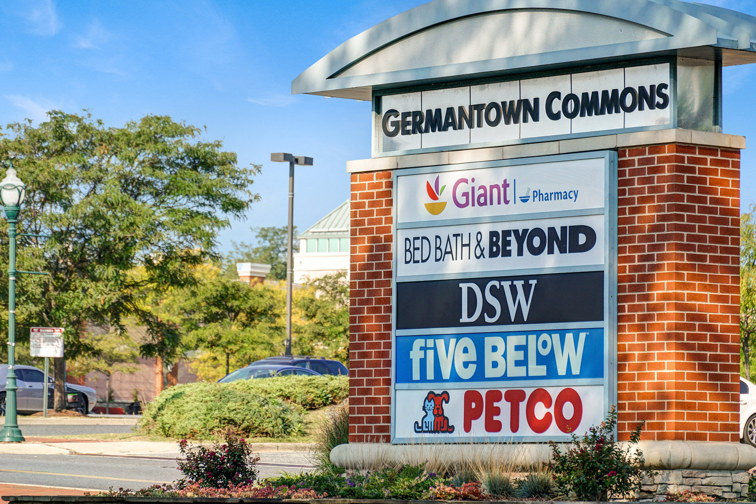 5 minutes to shopping at Germantown Commons in Germantown, MD