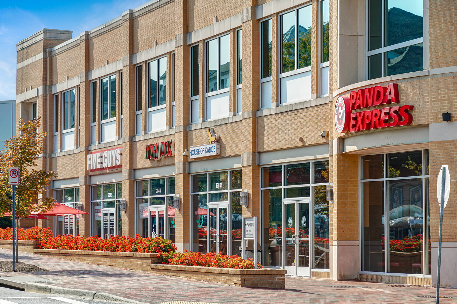 Germantown Town Center is 5 minutes from Seneca Club Apartments in Germantown, MD
