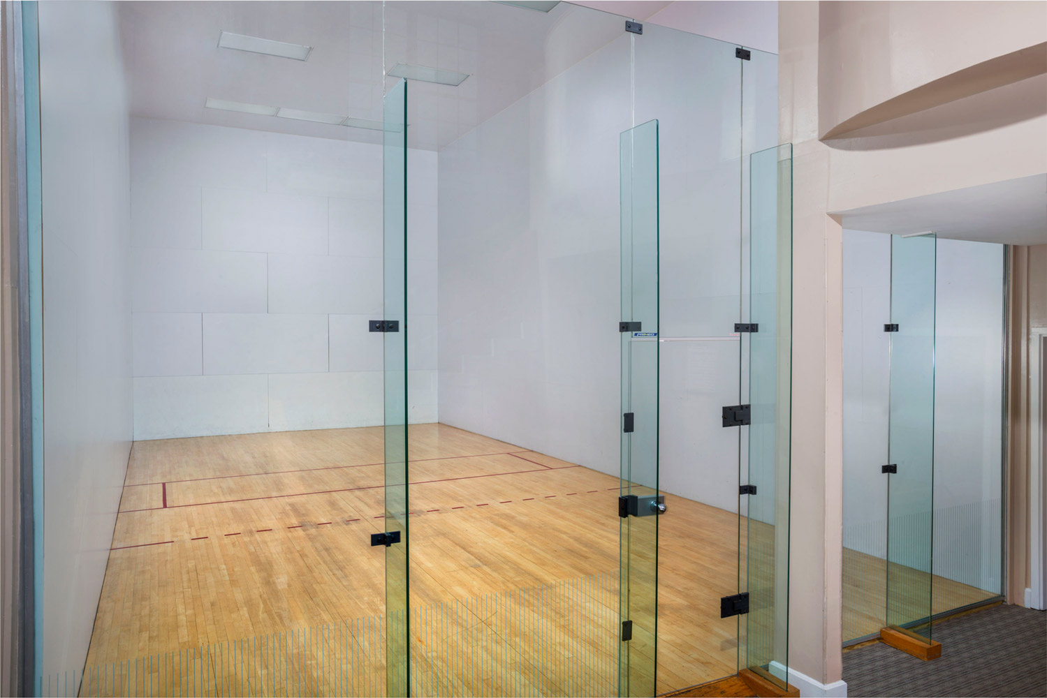 Indoor racquetball court at Seneca Club Apartments in Germantown, MD