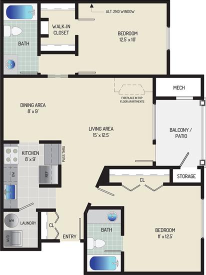 Seneca Club Apartments - Apartment 638016-302-D2