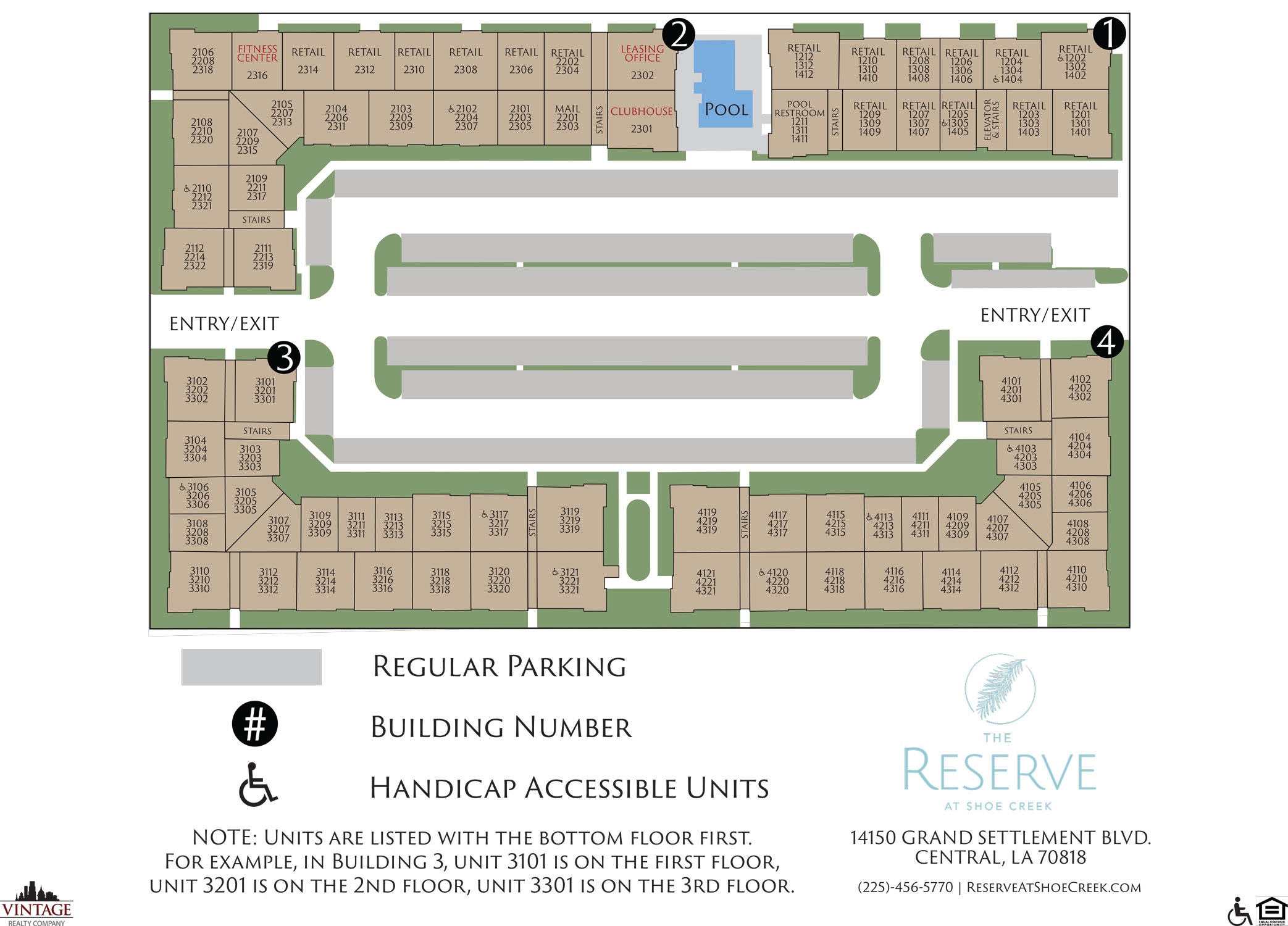 The Reserve at Shoe Creek Site Plan