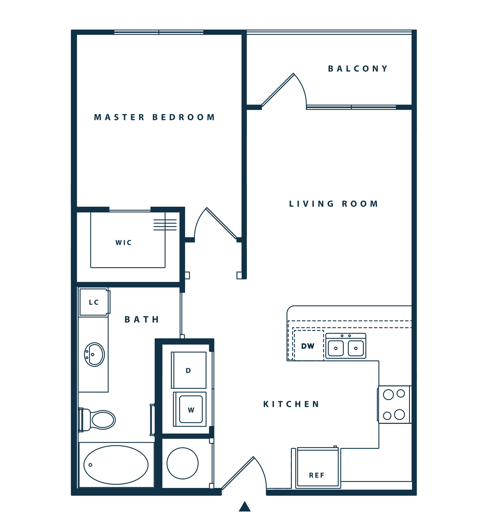 The Reserve at Shoe Creek - Floorplan - A1