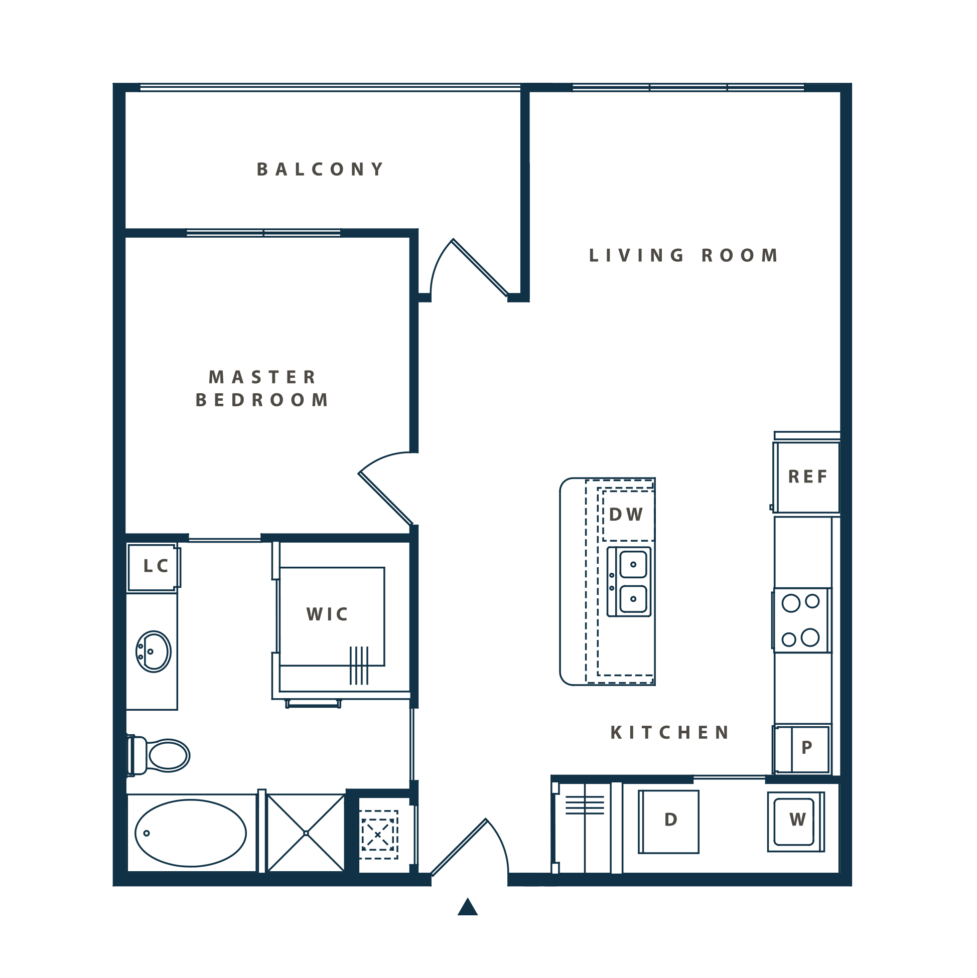 The Reserve at Shoe Creek - Floorplan - A3