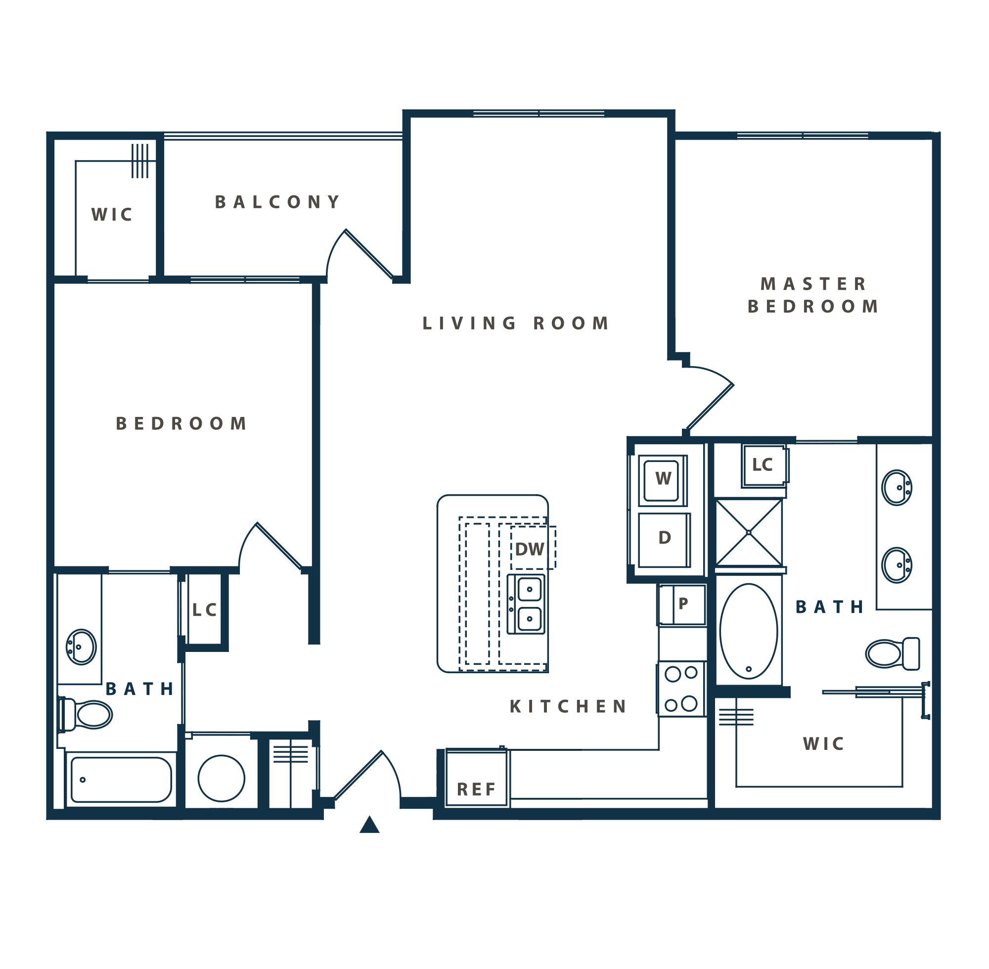 The Reserve at Shoe Creek - Floorplan - B2