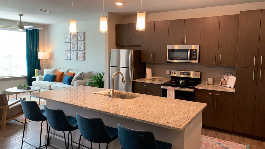 Construction Update - Open Concept Apartment Move In Ready!