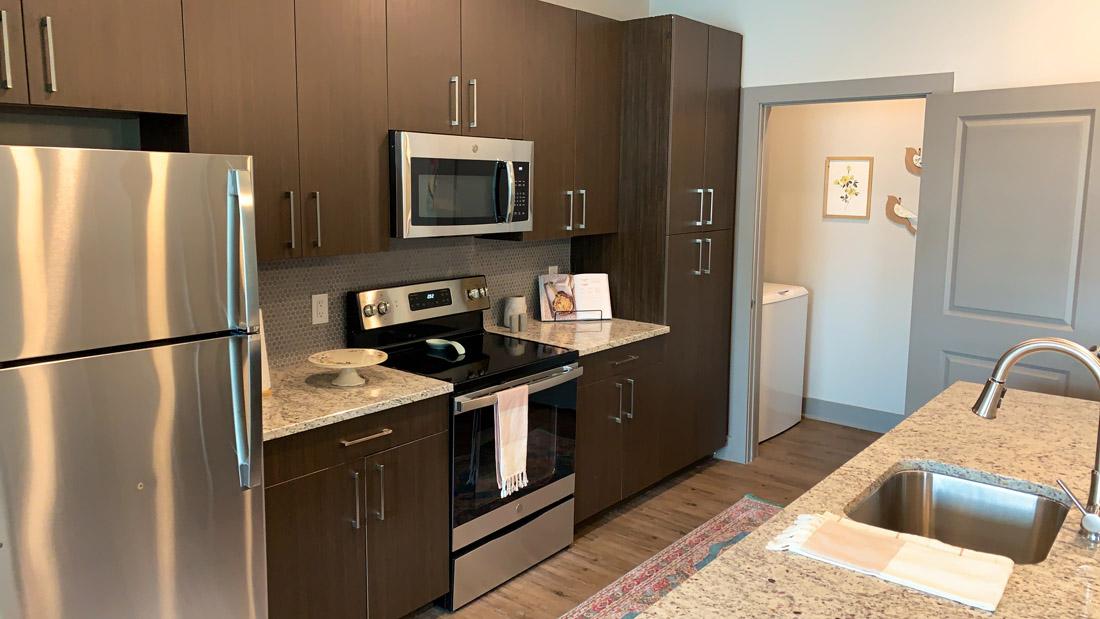 Immense Storage in the Luxurious Kitchen!