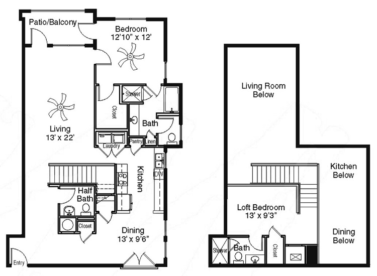 The Sidney at Morningside - Floorplan - AA