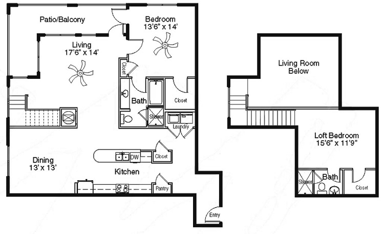 The Sidney at Morningside - Floorplan - BB