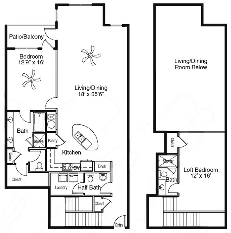 The Sidney at Morningside - Floorplan - CC