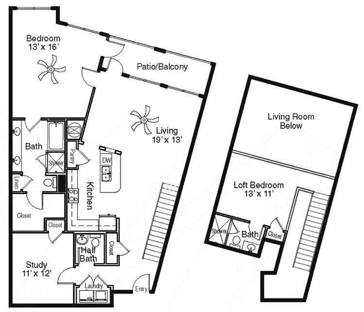 The Sidney at Morningside - Floorplan - DD