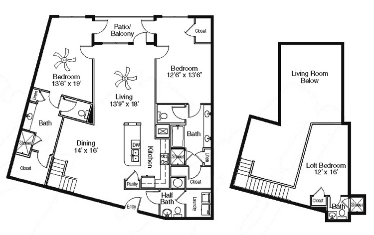 The Sidney at Morningside - Floorplan - FF