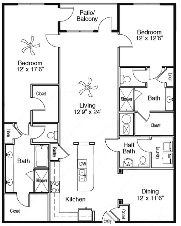 The Sidney at Morningside - Floorplan - I