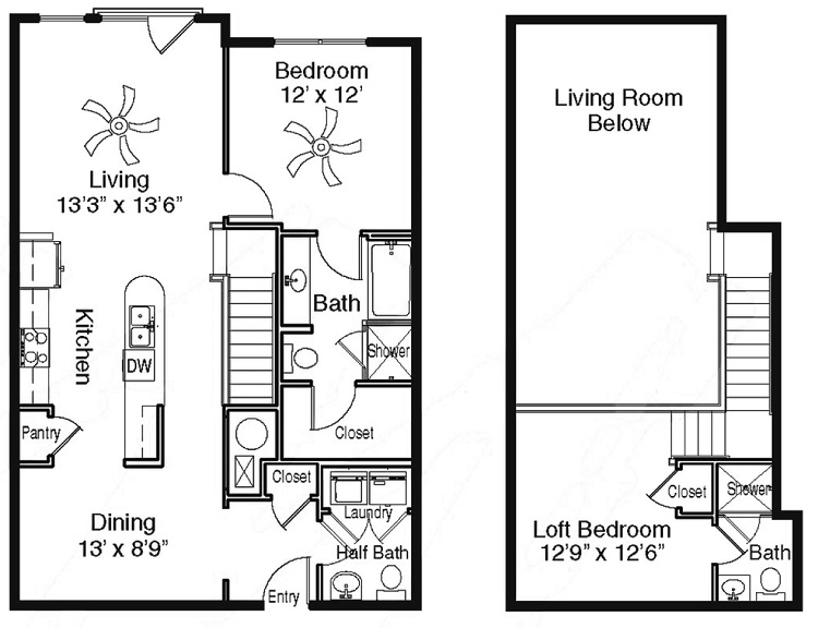 The Sidney at Morningside - Floorplan - R