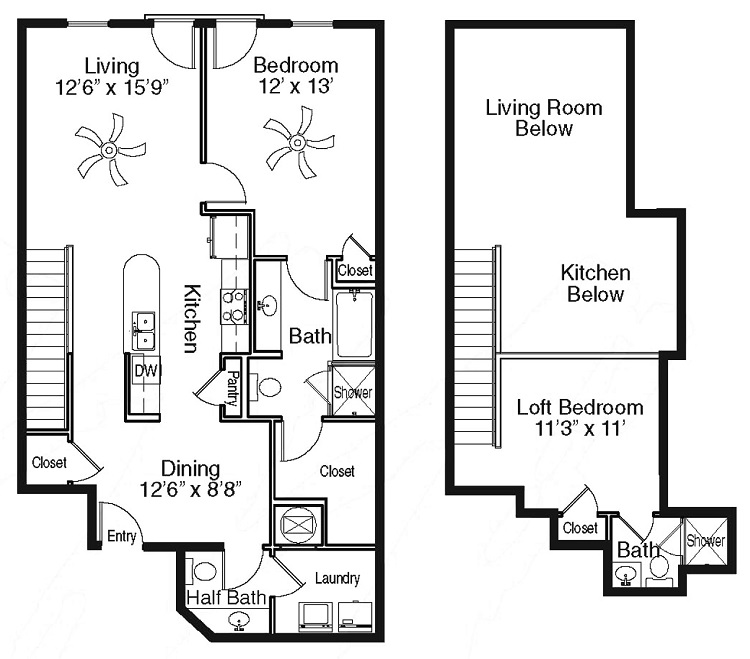 The Sidney at Morningside - Floorplan - S