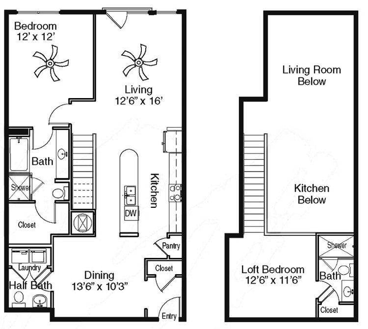 The Sidney at Morningside - Floorplan - V