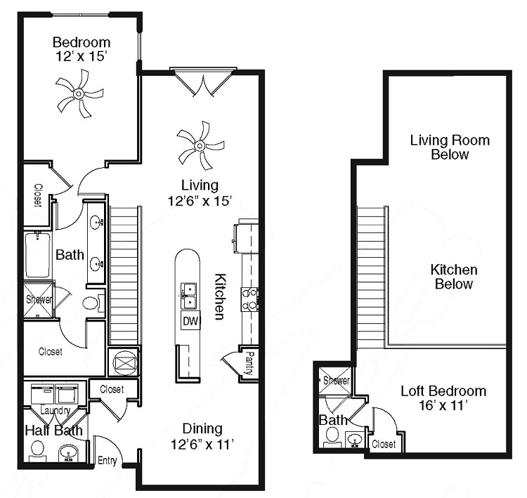 The Sidney at Morningside - Floorplan - X